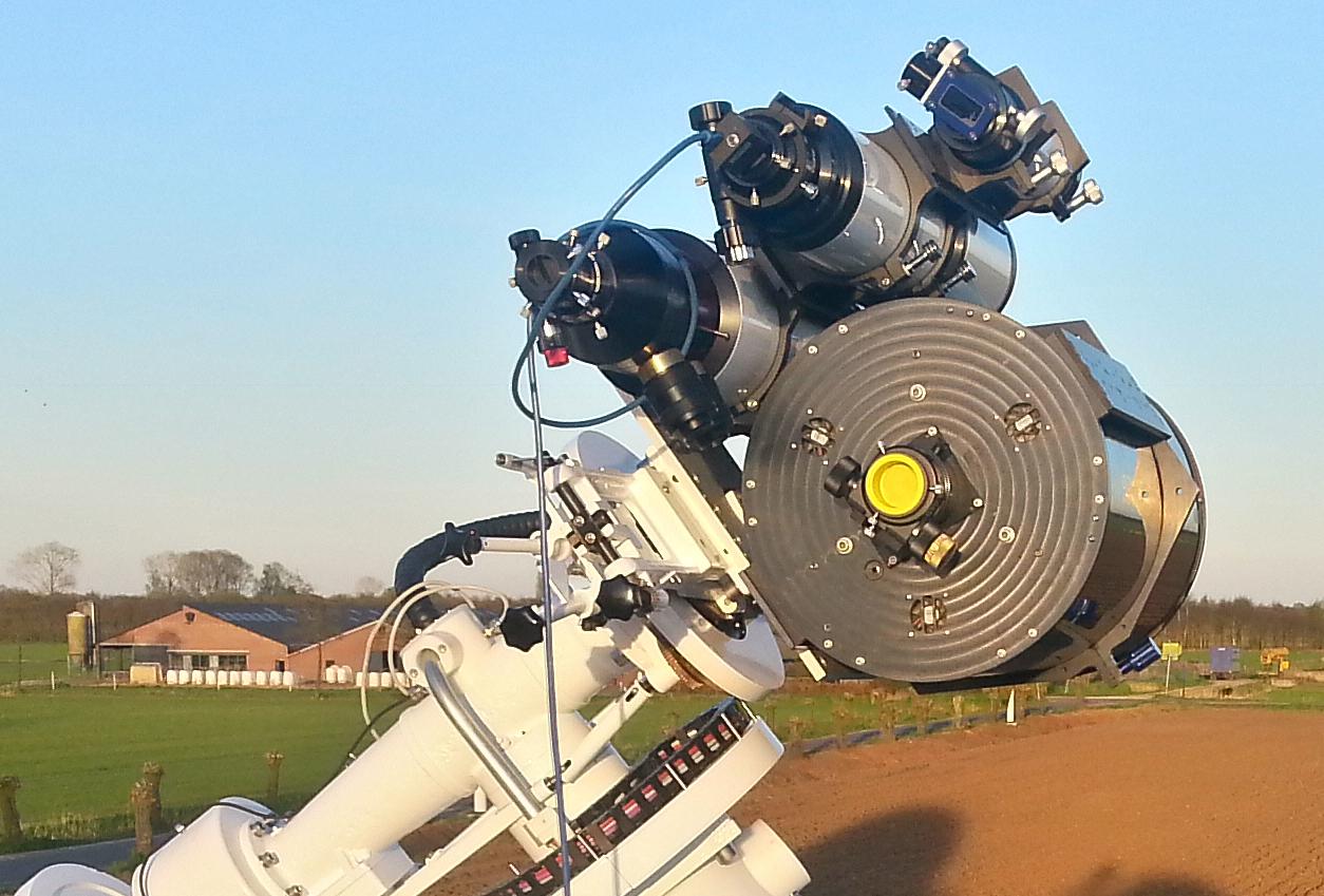 Telescoop zonnekoepel